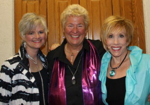 Stowe, Gail Grossman, KTG back stage at The Church on the Square at the Villages in Florida